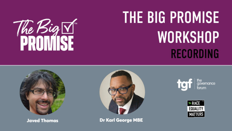 The Big Promise Workshop Recording