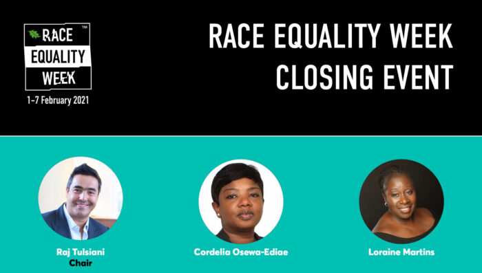 Race Equality Week Closing Event