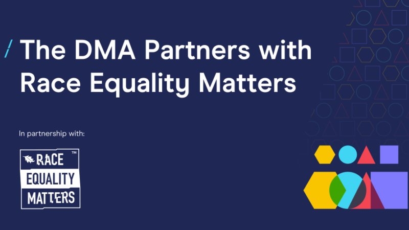 The DMA Partners with Race Equality Matters