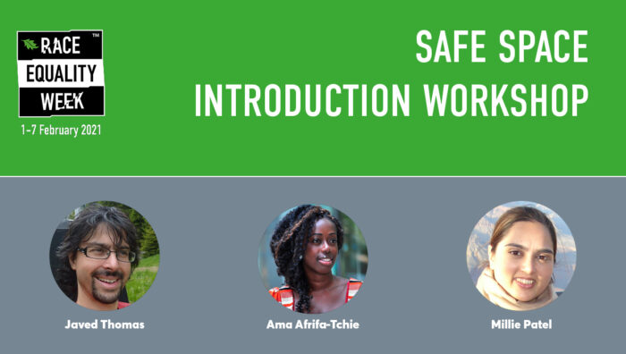 Safe Space Introduction Workshop