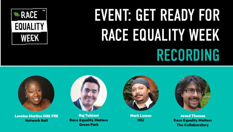 Get Ready for Race Equality Week – 5 Months to go