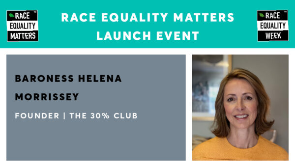 Race Equality Matters Launch Event – Helena Morrissey