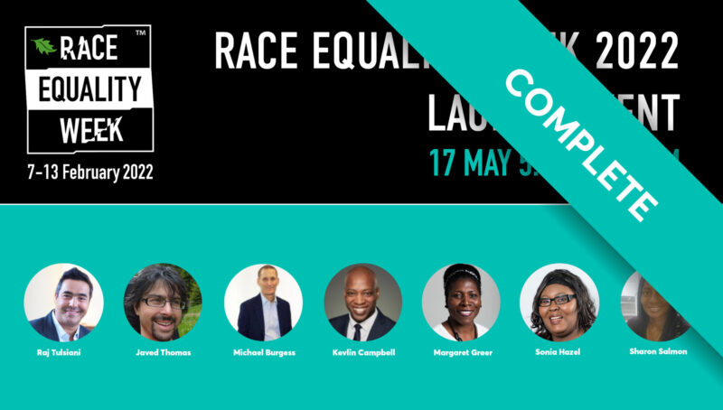 Race Equality Week 2022 Launch Event