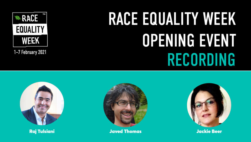 RECORDING: Race Equality Week 2021 Opening Event
